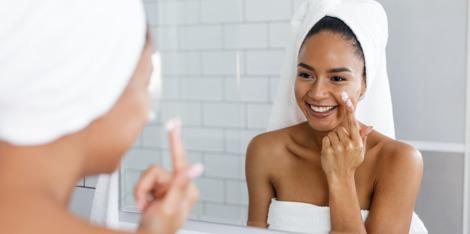 Wie pflege ich eine normale Haut?