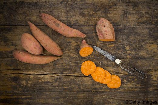 Gesundes Superfood: Süßkartoffeln