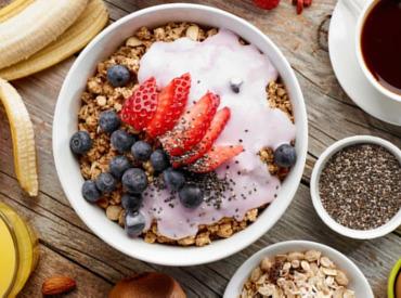 Vichy-Frühstück-Energie