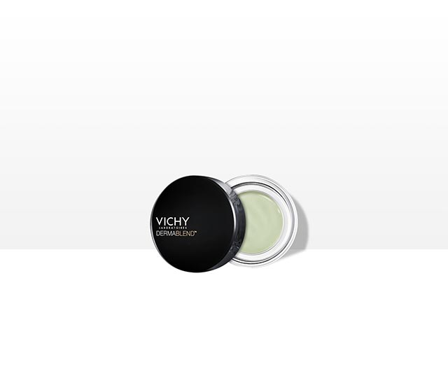 Korrekturfarbe Grün - neutralisiert Rötungen