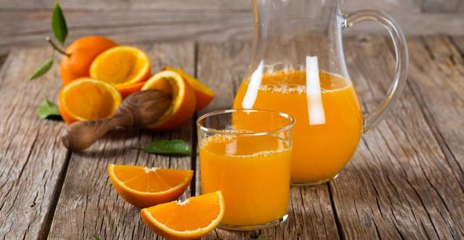 Orangen für gesunde Haut