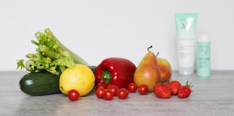 Reine Haut dank richtiger Ernährung