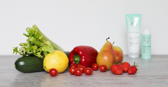 Reine Haut durch richtige Ernährung