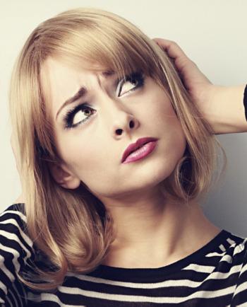 4 Anzeichen für eine empfindliche Kopfhaut