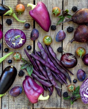 Gesundes Superfood: Violette Lebensmittel