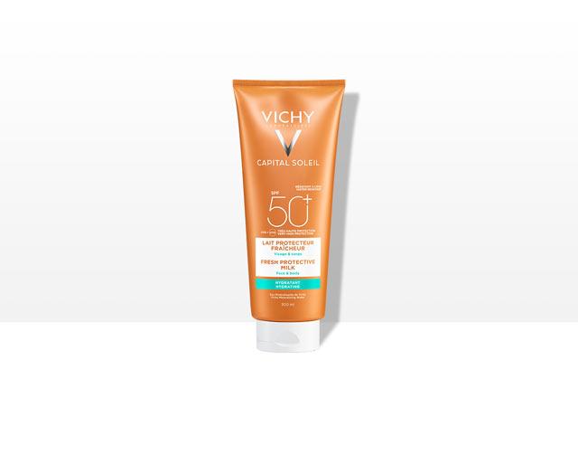 Beach Protect - Frische Sonnenmilch - Gesicht & Körper - LSF 50+
