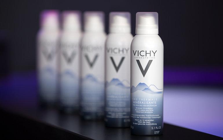 Das Vichy Thermalwasser