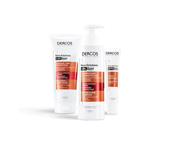 Dercos:   Kera Solutions - Serum für geschädigte Haarspitzen - Neu