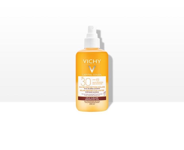 Frisches Sonnenspray mit Beta-Carotin LSF 30