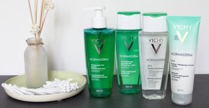 Porentief rein mit Vichy Normaderm