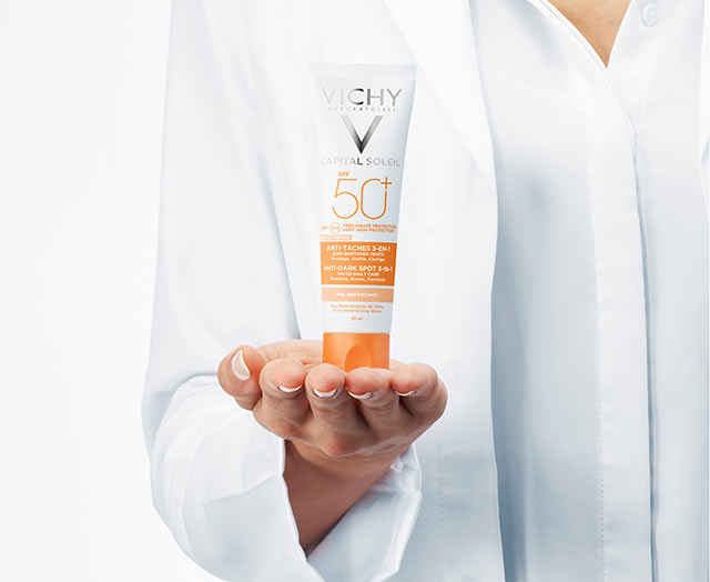 Anti-Pigmentflecken Pflege LSF 50+