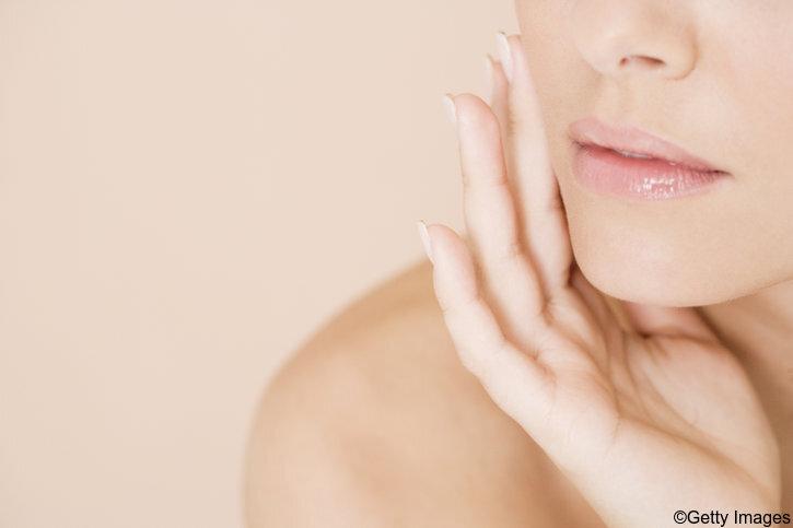 Empfindliche Haut