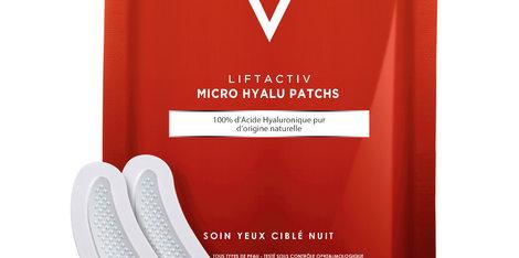 Mit Liftactiv Micro Hyalu Augenpads von Vichy bleiben Sie immer frisch