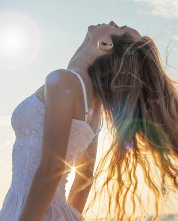 Vichy-Haarpflege-Sommer