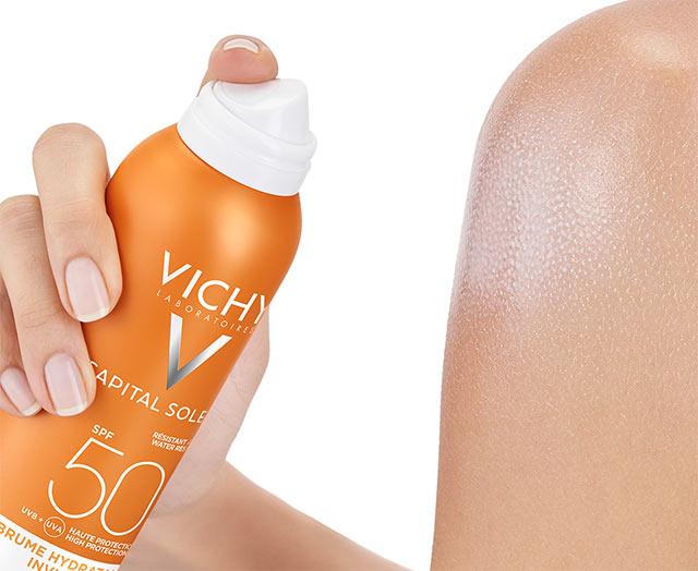 Transparentes & hydratisierendes Körper-Spray LSF 50