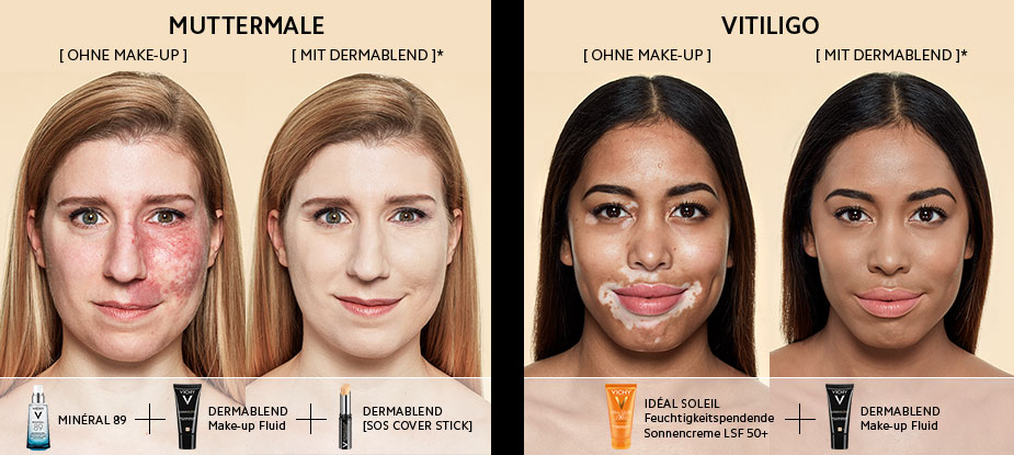 Wie finde ich den richtigen Make-up Ton?