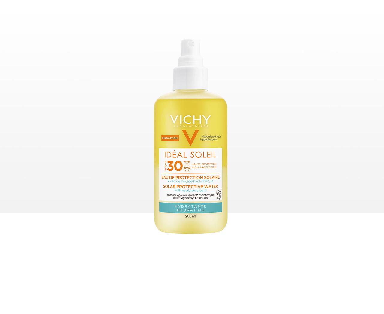 Frisches Sonnenspray mit Hyaluron LSF 30