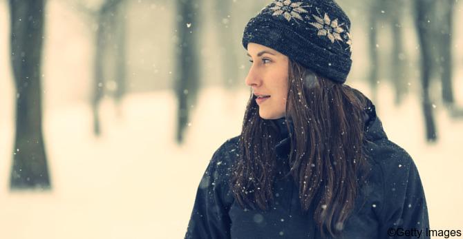 Haarpflege im Winter