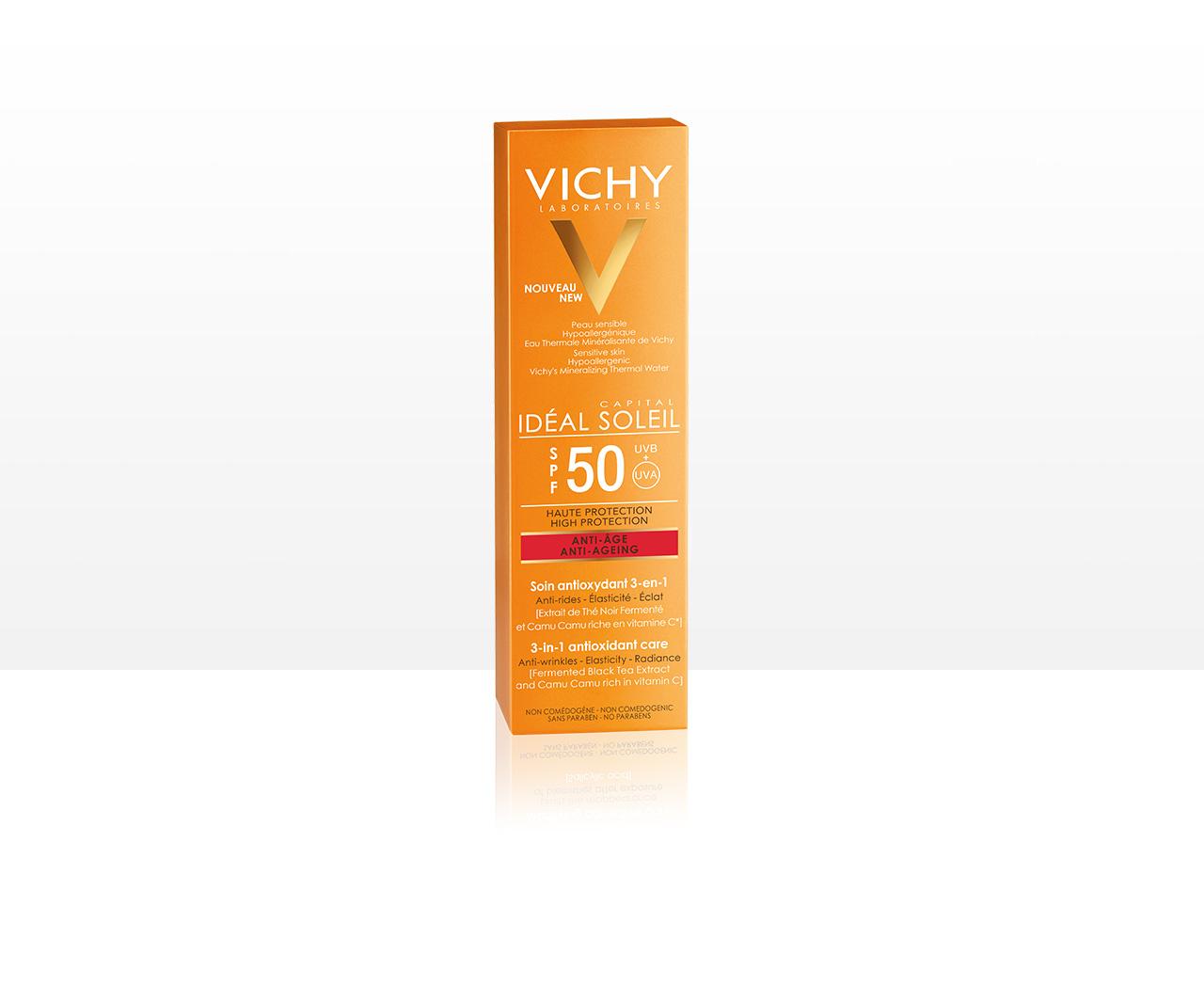 Anti-Age 3-in-1 Antioxidative Sonnenpflege LSF 50