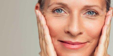 Hautveränderungen bei Frauen während der Wechseljahre