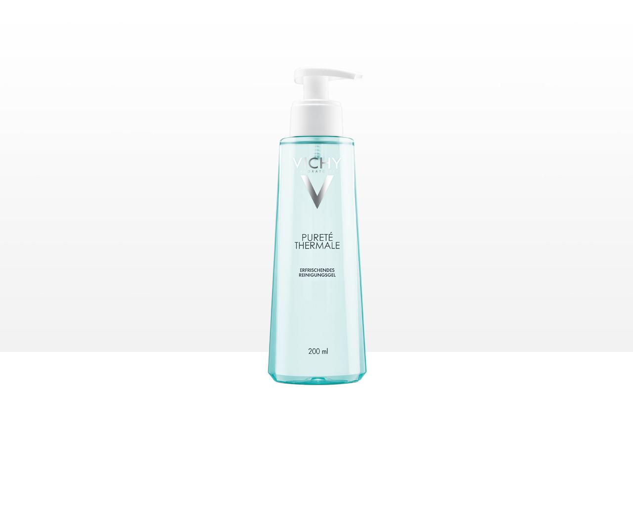 Hautreinigung   mit Reinigungsgel Pureté Thermale
