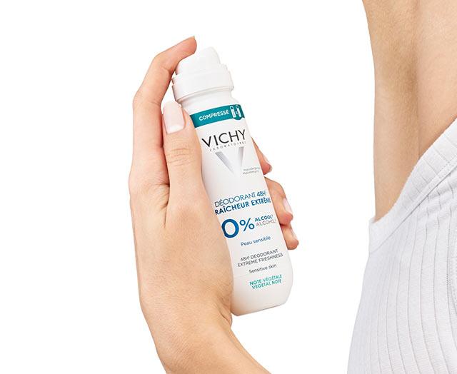 Frisches   Deodorant mit 48 Stunden Wirkung