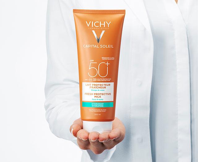 Beach Protect - Lait hydratant fraîcheur - Visage & Corps - SPF 50+
