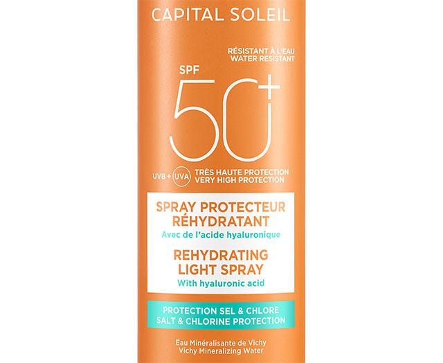 Beach Protect - Spray anti-déshydratation- SPF 50+