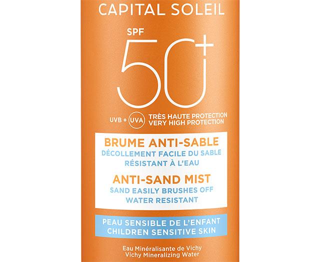 Brume Solaire Anti-sable enfants SPF 50+