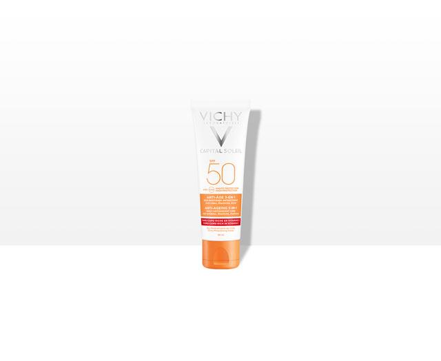 Soin Anti-Âge antioxidant 3-en-1 SPF 50
