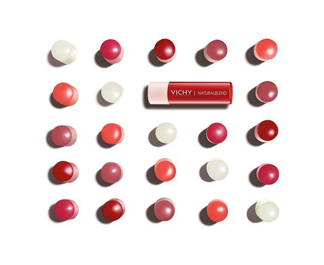 Baume à lèvres hydratant coloré