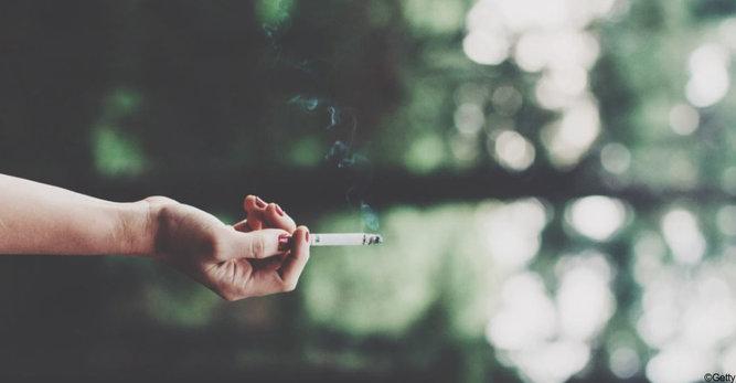 Les effets du tabac sur la peau