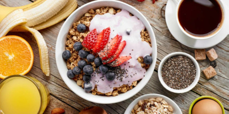 Optez pour un petit déjeuner énergisant